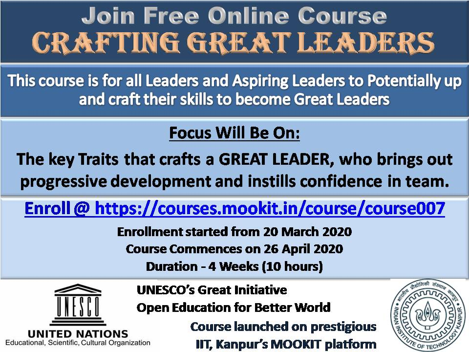Crafting Great Leaders Banner